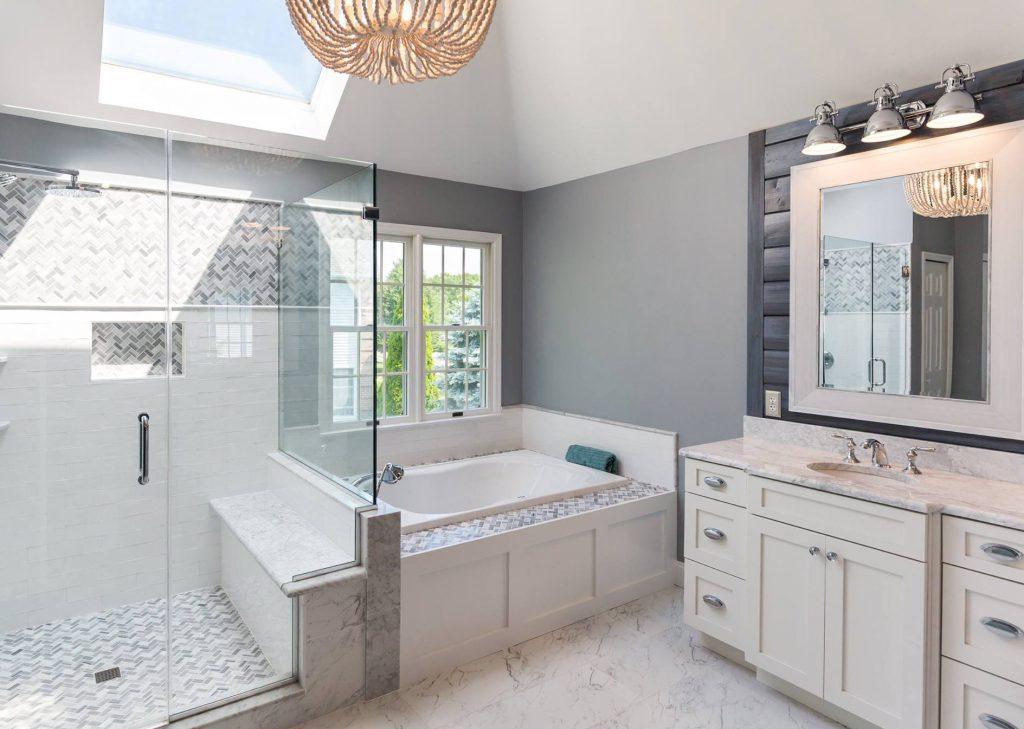 Evanston bathroom renovation